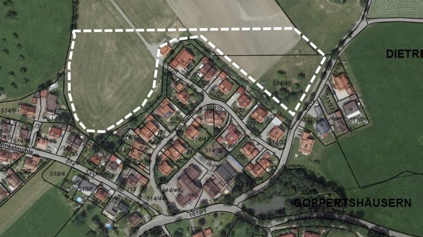 Darstellung Goppertshäusern-Nord