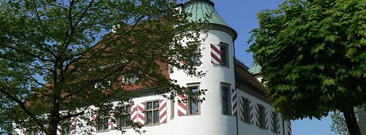 Sommeransicht Altes Schloss
