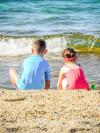 Ferien Sommer Strand