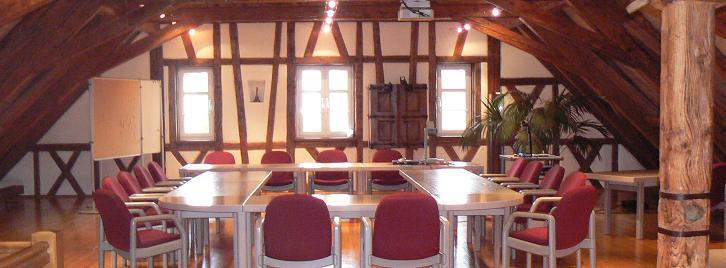 Sitzungssaal im Rathaus Amtzell