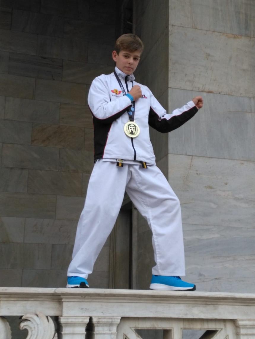 Karate Weltmeister Matteo Hayer