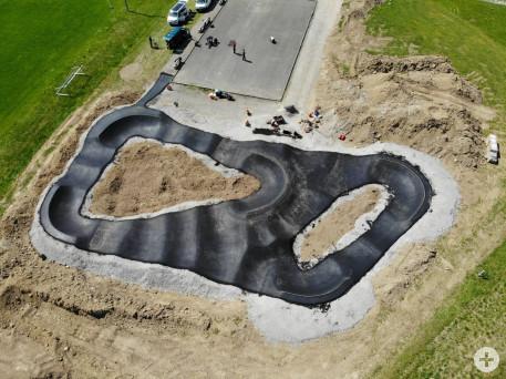 Pumptrack Luftbild